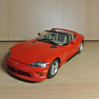 1/24 Bburago - Dodge Viper R T10 (red) - модель авто