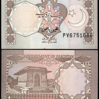 ПАКИСТАН 1 рупия 1983г. UNC