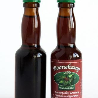 Коллекционная алкоминиатюра бутылочка Boonekamp, 20 ml, Германия