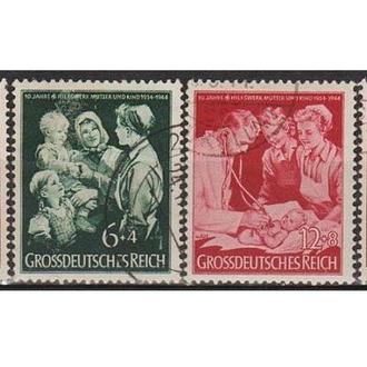 1944 - Рейх - Помощь матери Mi.869-72  _4,0 EU