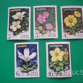 СССР. 1977 Цветы MNH флора
