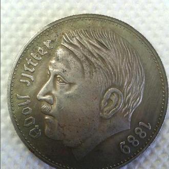 Продам монету 3 Рейха с Гитлером (копия) - 11