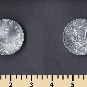 Албания 5 киндарка 1964