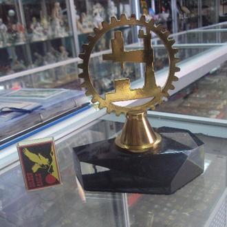 знак одесский завод радиально-сверлильных станков бронза №4006