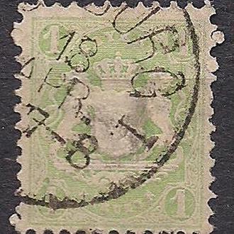 Бавария, немецкие земли, 1870 г., марка № 22