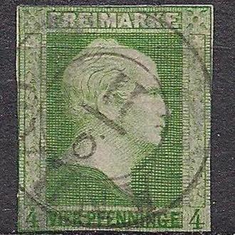 Немецкие земли, Preusen, 1856 г., первые марки, марка № 5