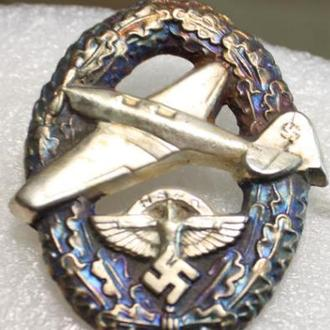 ЗНАК NS летного корпуса пилота 2 модели (САМОЛЁТ). КОПИЯ