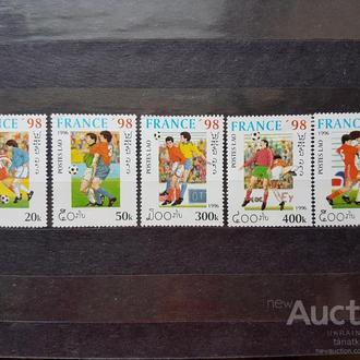 футбол ЧМ 1998 Лаос**