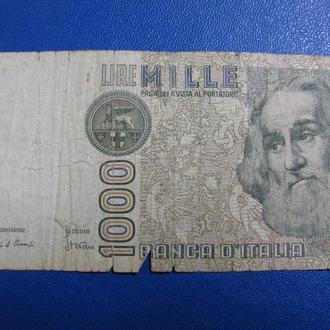 1000 Лір Італія 1 000 Лир Италия 1982