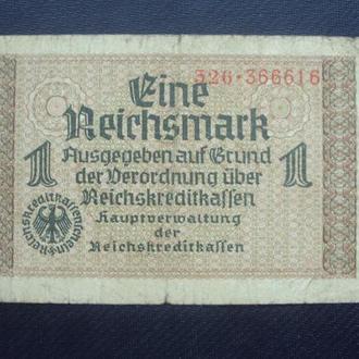 1 Рейхсмарка 1940-45г. 326*366616.