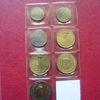Саудовская Аравия набор монет 2016 UNC. 7 монет.