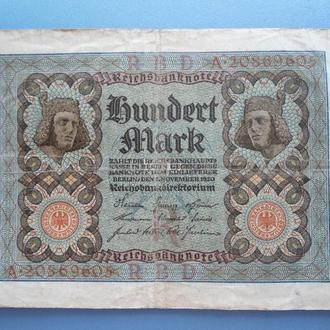 100 марок Германия