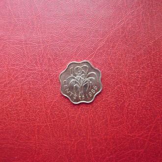 Свазиленд 10 центов 1998
