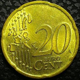 Германия 20 евроцент 2002 год СОСТОЯНИЕ!!!!!