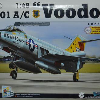 Сборная модель самолета F-101 A/C Voodoo 1:48 Kitty Hawk