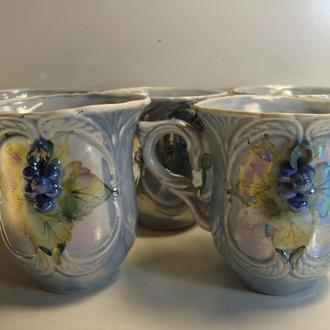Чашки 5 шт. Керамика СССР