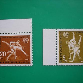 Болгария  1963  Спорт *  полн. серия
