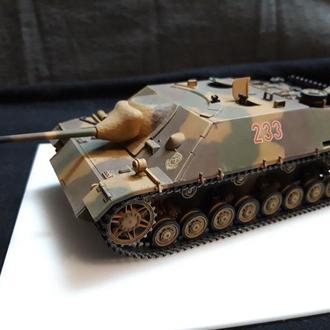 Jagdpanzer IV. третий Рейх. Собран