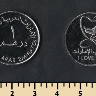 Об.Арабские Эмираты 1 дирхам 2010