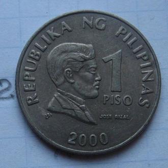ФИЛИППИНЫ, 1 песо 2000 года.