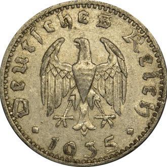 Німеччина 50 Pfennig 1935 A