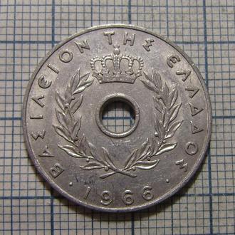 Греция, 20 лепт 1966 г. Оливковая ветвь.