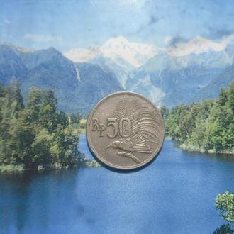 Индонезия 50рупий 1971г