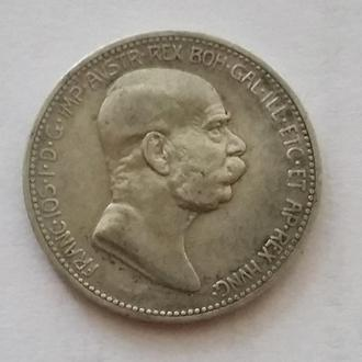 1 корона 1908 г Юбилейный