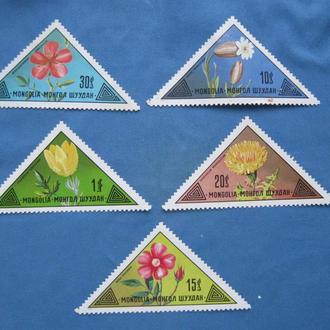 Монголия  Флора 1973 год