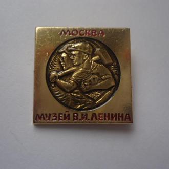 Значок Москва музей Ленина