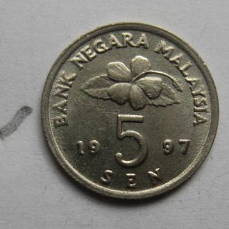 Малайзия 5 сен 1997 года (состояние).