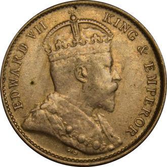 Гонконг 5 центів 1905 Срібло  A★187