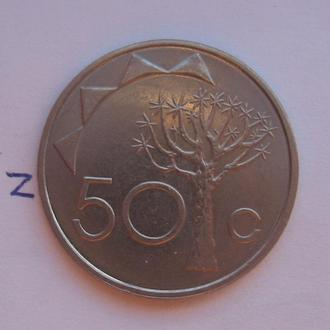 НАМИБИЯ, 50 центов 2008 года.