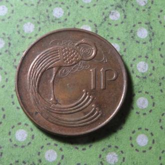 Ирландия 1996 год монета 1 пенни