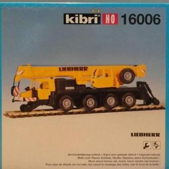 Мобильный кран Liebherr KIBRI 16006-1:87(НО)
