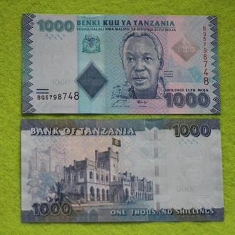 Танзания, 1000 шиллингов  , UNC