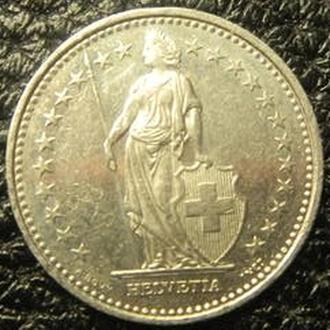 1/2 франка 1996 B Швейцарія