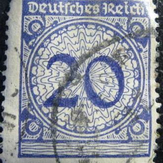Марка Германия 20, 1923 год