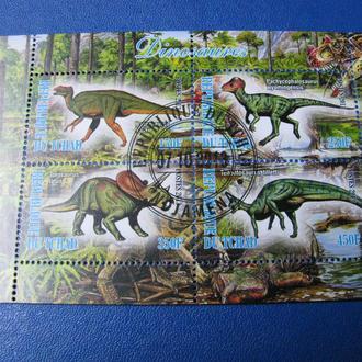 Фауна Динозаври Чад Блок