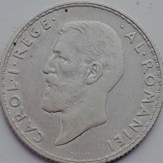 Румыния 1 лей 1910 год СЕРЕБРО!!!