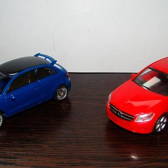 Модели 1:43 Mercedes A-class and Audi A1 Limited edition.