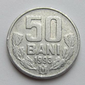 Молдова 50 бани 1993 (KM#4)