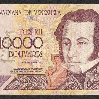 2004 Венесуела 10000 боливаров UNC