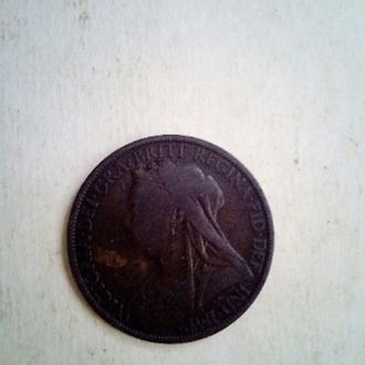 Продам Монету One Penny 1899