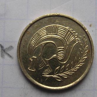 КИПР 1 цент 1994 года.