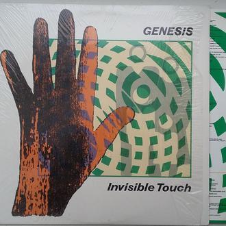 GENESIS  Invisible Touch  LP  EX-/EX