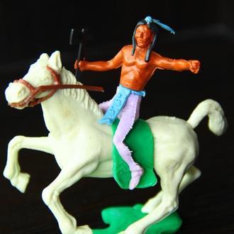 индеец на коне ( CHERILEA ) 70мм