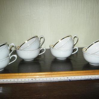 Чашки для чая,кофе. Фарфор. Германия 40-е гг. Kahla.