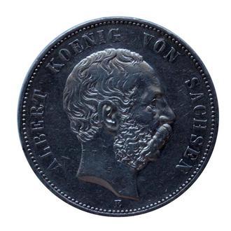 5 марок 1898 р, Саксонія