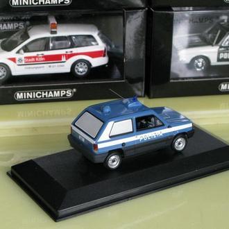 Minichamps Fiat Panda 1980 Polizia